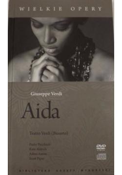 Aida. Wielkie Opery, DVD + CD