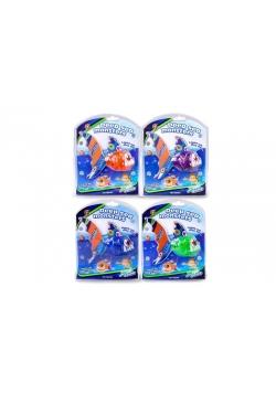 Zabawka do wody - Pirania zmieniająca kolor