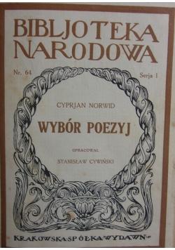 Wybór poezyj, 1924r.