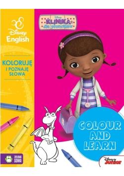 Colour and learn! Dosia. Koloruję.. Disney English