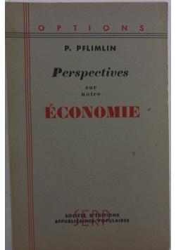 Economie perspectives