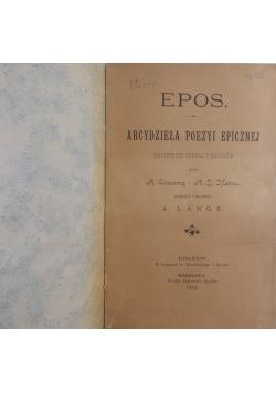 Epos- Arcydzieła Poezyi Epicznej 1894r.
