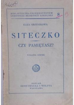 Siteczko czy pamiętasz? 1931 r.