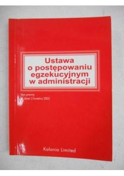 Klat-Wertelecka L. - Ustawa o postępowaniu egzekucyjnym w administracji