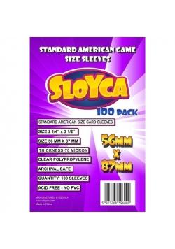 Koszulki Standard American 56x87mm (100szt) SLOYCA