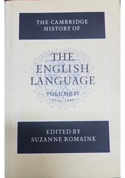 The Cambridge History of the English Language IV