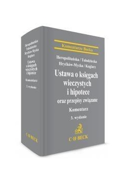 Ustawa o księgach wieczystych i hipotece...