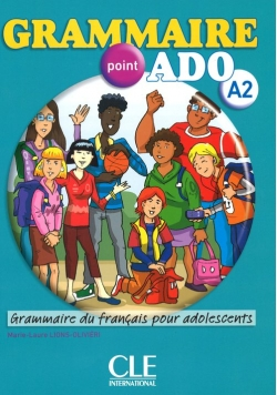 Grammaire point ADO A2 książka + CD