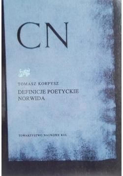 Definicje poetyckie Norwida