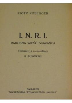 I.N.R.I., ok 1920 r.