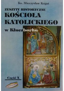 Zeszyty historyczne kościoła katolickiego w Kluczborku X