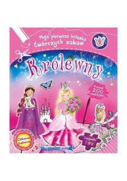 Królewny. Moja pierwsza książka twórczych zabaw