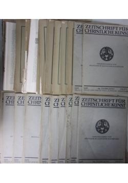 Zeitschrift fur Christliche kunst cz.37, ok. 1916 r.