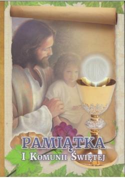 Pamiątka I Komunii Świętej - Pan Jezus z dzieckiem