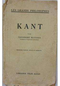 Kant, 1929r.