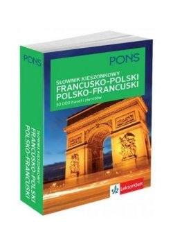 Kieszonkowy słownik francusko-poski, polsko-franc.