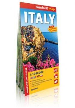 Comfort!map Italy (Włochy) 1:1050 000 mapa