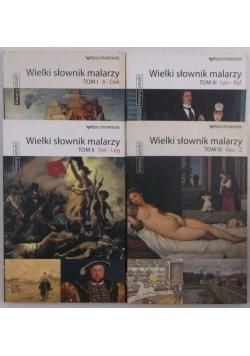 Wielki słownik malarzy, tomy I-IV