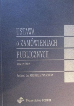 Ustawa o zamówieniach publicznych