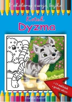 Kotek Dyzma. Pokoloruj swoją bajkę