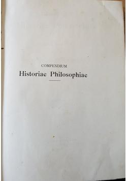 Compedium Historiae Philsophiae, 1898r.