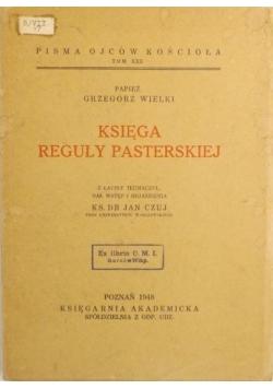 Księga reguły pasterskiej, 1948 r.