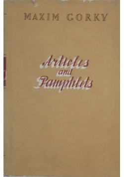 Articles and Pamphlets, 1950