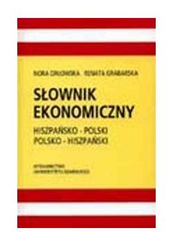 Słownik ekonomiczny hiszpańsko-polski polsko-hiszpański