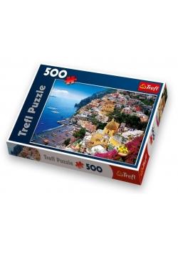 Puzzle 500 Positano, Wybrzeże Amalfickie,Wł. TREFL