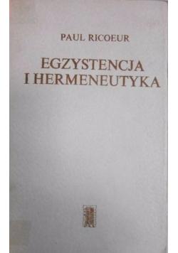 Egzystencja i hermeneutyka