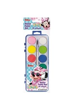 Farby akwarelowe Minnie 12 kolorów