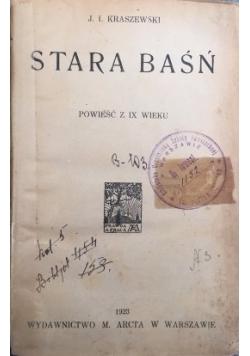 Stara baśń, 1923 r.
