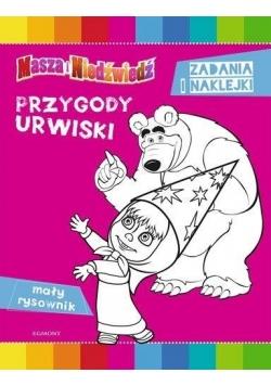 Masza i Niedźwiedź. Przygody urwiski