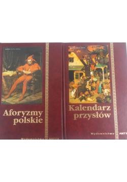 Aforyzmy polskie / Kalendarz przysłów