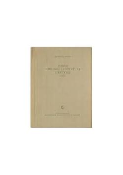 Zarys historii literatury greckiej Tom II