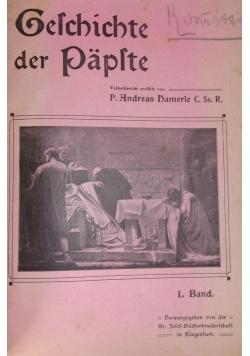 Geschichte der Papste, 1907r.