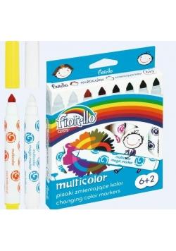 Pisaki Multicolor 6+2 kolory FIORELLO