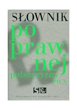 Słownik poprawnej polszczyzny PWN z płytą CD