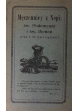Męczennicy z Nepi, 1914r.