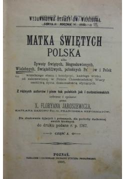 Matka Świętych Polska, 1894 r.