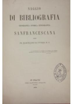 Saggio di bibliografia, 1879 r.