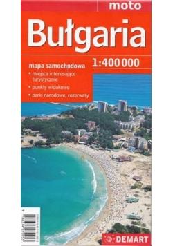 Bułgaria - mapa samochodowa 1:400 000
