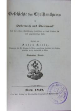 Geschichte des christentums, 1842 r.