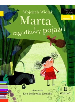 Czytam sobie - Marta i zagadkowy pojazd