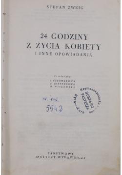 24 Godziny Z Zycia Kobiety I Inne Opowiadania Stefan Zweig 6 00