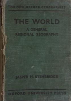 The world a general regional geography ,  1939 r.