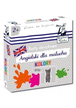 Kapitan Nauka. Karty obrazkowe kolory