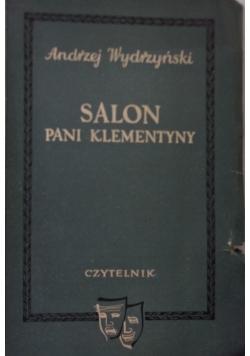 Salon Pani Klementyny, 1950 r.