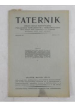 Taternik rocznik XIII, 1929 r.