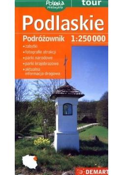 Podlaskie Podróżownik Mapa turystyczna 1:250 000